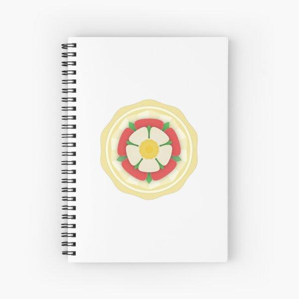 Tudor Rose Badge Spiral Notebook