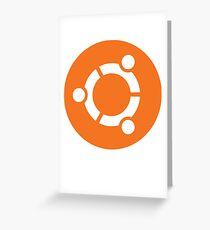 Ubuntu Linux Greeting Card