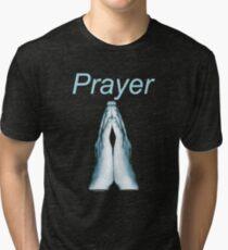 Prayer (for dark colors) Tri-blend T-Shirt