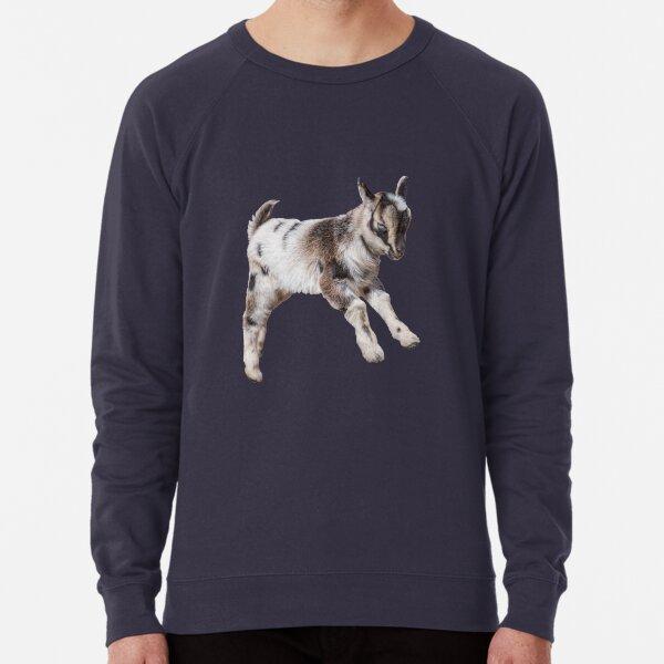 Bouncing Baby Goat VIII Lightweight Sweatshirt