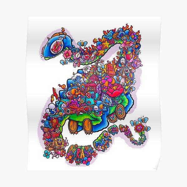 Dragon-dessin par Gawx Poster