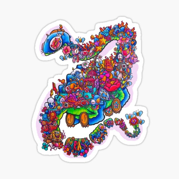 Dragon-drawing by Gawx  Sticker
