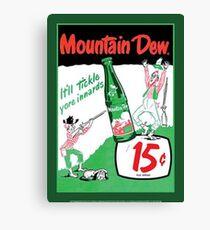 Mountain Dew Ad Canvas Print