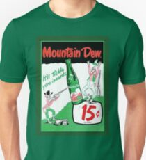 Mountain Dew Ad Unisex T-Shirt