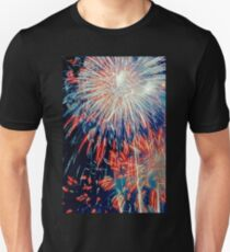 By the Rockets' Red Glare Unisex T-Shirt