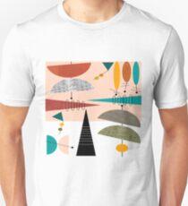 Mid-Century Modern Abstract #59 Unisex T-Shirt
