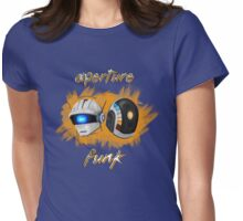 Aperture Funk - Orange Womens Fitted T-Shirt