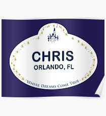 Chris From Orlando Poster
