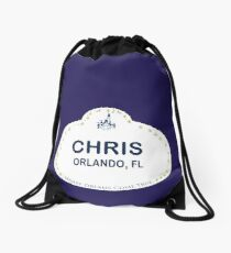 Chris From Orlando Drawstring Bag