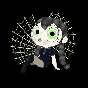 Cute Spider Girl by TheKillerOpekui