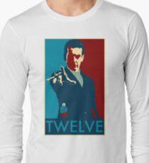 Peter Capaldi Hope Poster Long Sleeve T-Shirt