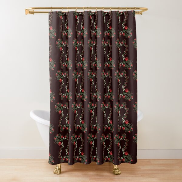 D1G1TAL-M00DZ ~ FloralFractal MBKWwnrfXt by tasmanianartist Shower Curtain