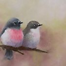 Rose Robins by JulieWickham