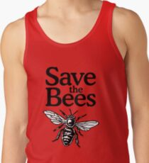 Save The Bees Beekeeper Quote Design Men's Tank Top