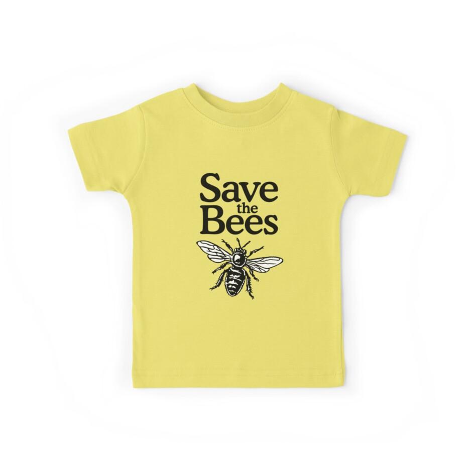 «Save The Bees Beekeeper Quote Design» de theshirtshops