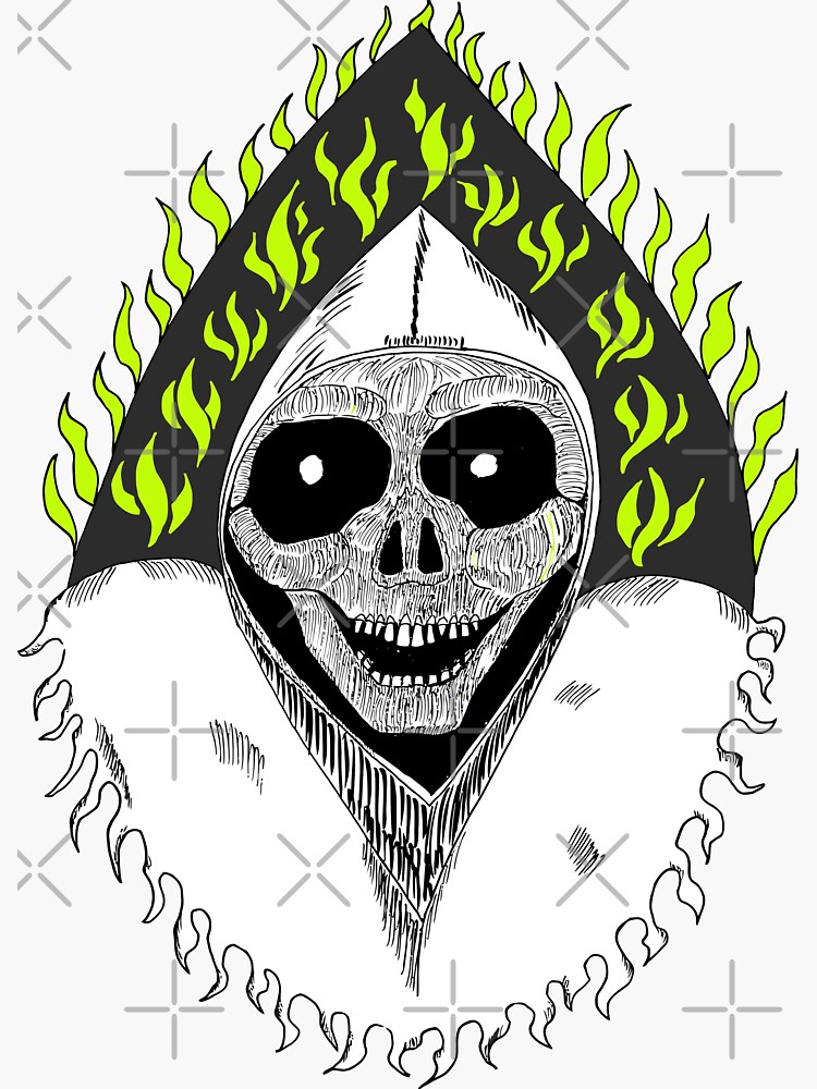 «Grim Reaper blank text colored version» par NubesDesignCH
