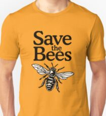 Save The Bees Beekeeper Quote Design Unisex T-Shirt