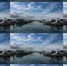 Nelson Bay Harbour by KazM