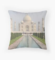 The Taj Mahal, Agra Throw Pillow