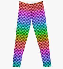 Pride Rainbow Dragon scales Leggings