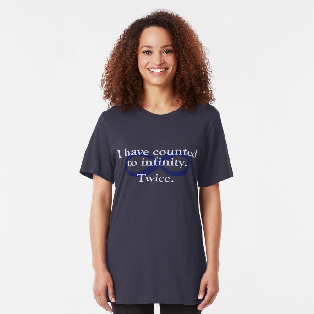 Counted to Infinity Slim Fit T-Shirt