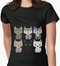 Direwolves Womens Fitted T-Shirt