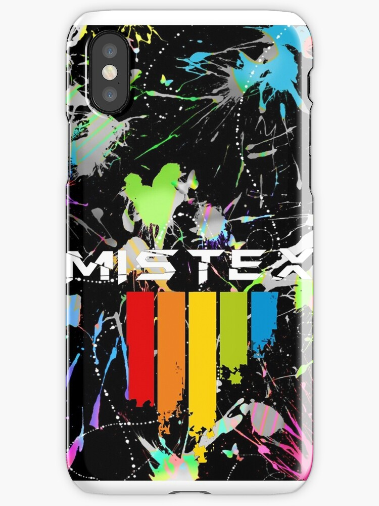 Mistex IPhone German Coat of Arms / Paint Splatter by Mistex