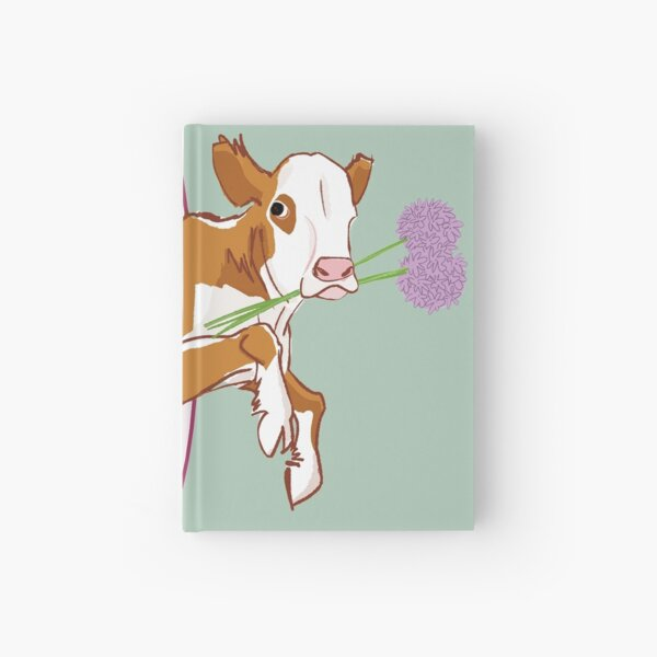 Sipuli the male calf with onions #4 Hardcover Journal