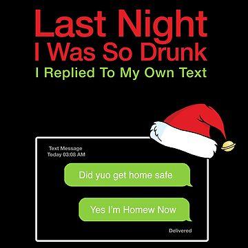 Letzte Nacht war ich so betrunken - rote Variante von Purakushi