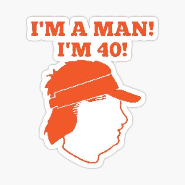 Mike Gundy, Mike Gundy I'm a Man I'm 40 Sticker