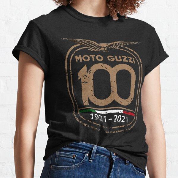 Vintage Anniversaire 100e Moto Guzzi Retro T-shirt classique