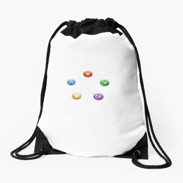 Puzzle & Dragons Orb Matrix Drawstring Bag