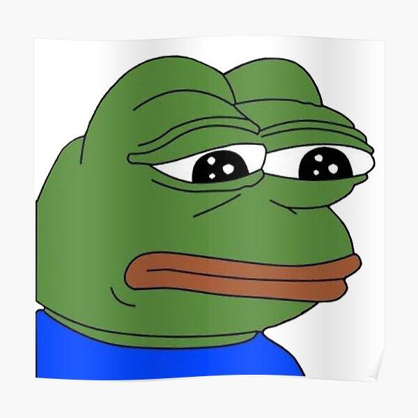 Pepe The Frog - The Original Meme Poster