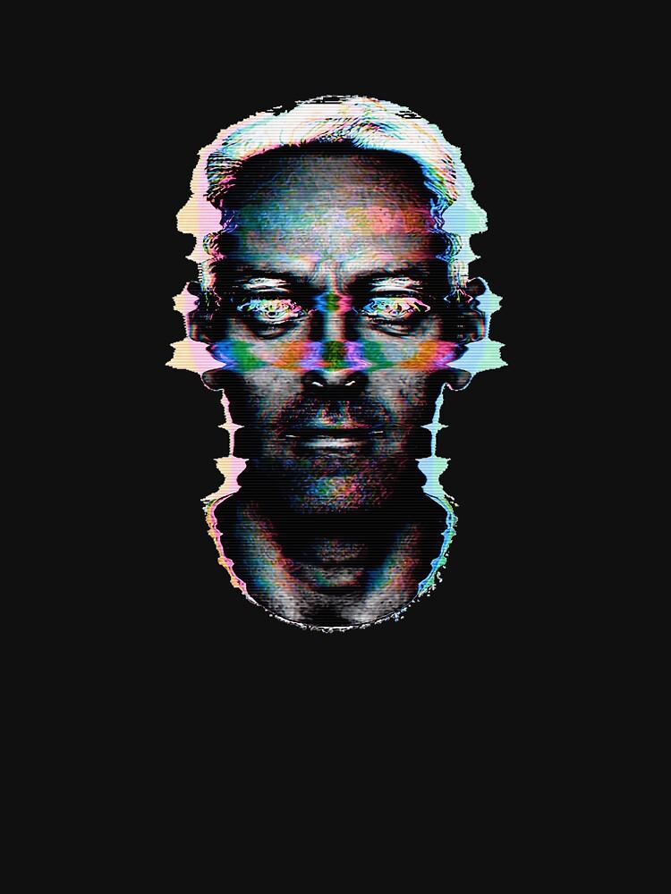 HERON @ Cracked Analogue: Self-Portrait by crackedanalogue