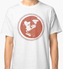 Flat Earth Maps Classic T-Shirt