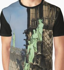 Surfing Notre Dame Graphic T-Shirt
