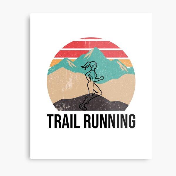 Trail Running - Trail Runner Gift for Women Metal Print