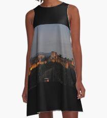 The Alhambra -Granada, Spain A-Line Dress