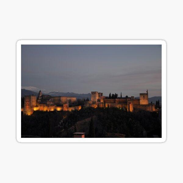 The Alhambra -Granada, Spain Sticker