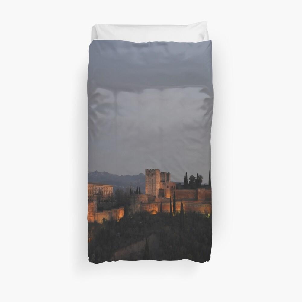 The Alhambra -Granada, Spain Duvet Cover