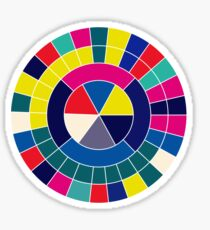 Colour Wheel Sticker