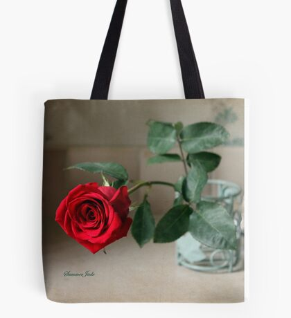 A Rose ~ In the Light of Early Morn Tote Bag