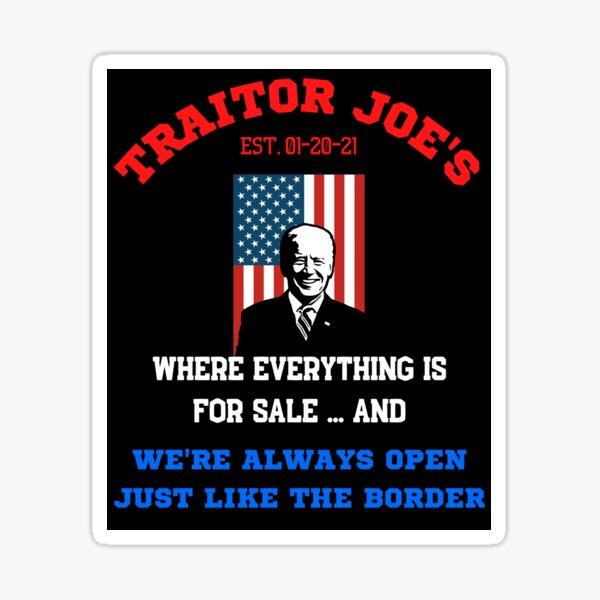 Traitor Joes   Sticker