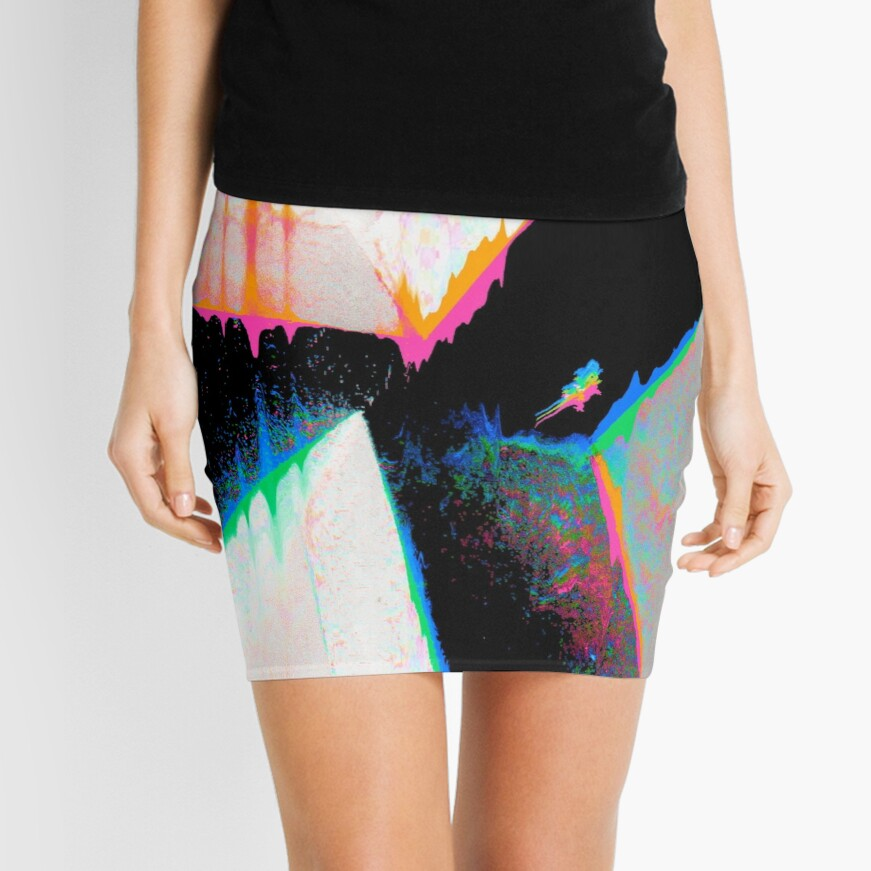 Abstract 0089 Mini Skirt