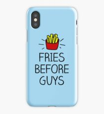 fries before guys - in living color iPhone Case