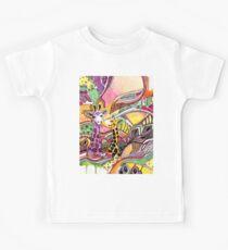 Giraffes in love Kids Clothes
