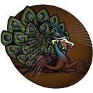 Mutant Zoo - Peacockroach by dezignjk