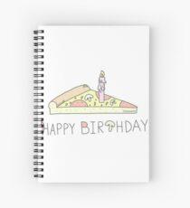 Alles Gute zum Geburtstag Pizza Spiralblock