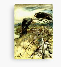 The Two Crows Canvas Print