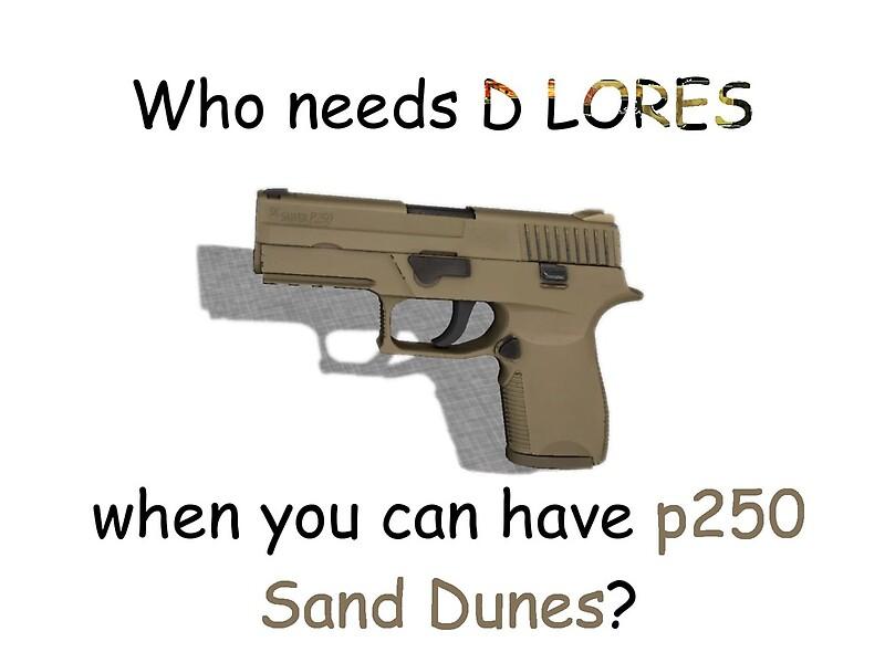 CS:GO P250   Sand Dune meme